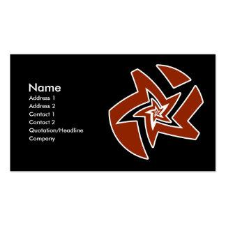 Star Fractal Business Card