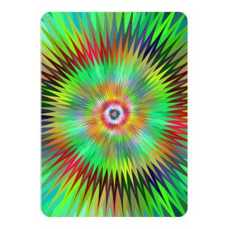 Star fractal card