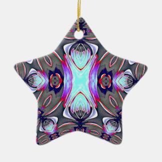 Star Fractal Design Ornament