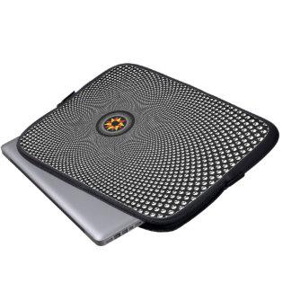 Star fractal laptop sleeve