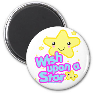 Star friends Kawaii t-shirts and more 2 Inch Round Magnet