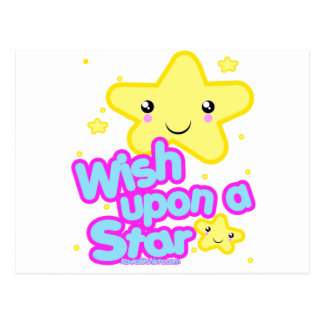 Star friends Kawaii t-shirts and more Postcard