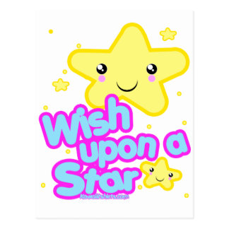 Star friends Kawaii t-shirts and more Postcard