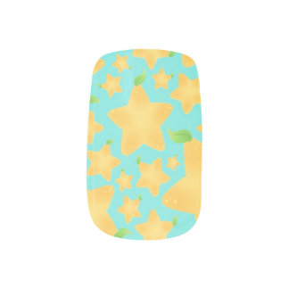 Star Fruit Nail Stickers