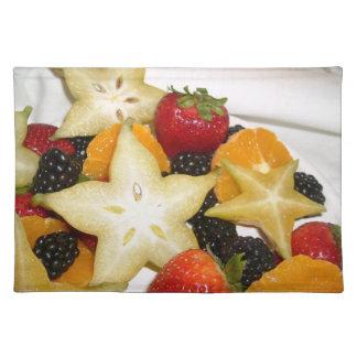 Star Fruit Placemat Cloth Placemat