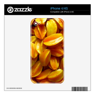 Star Fruit Skin For iPhone 4S