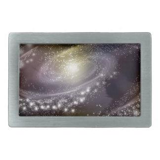 Star Galaxy Galactic Space Print Rectangular Belt Buckle