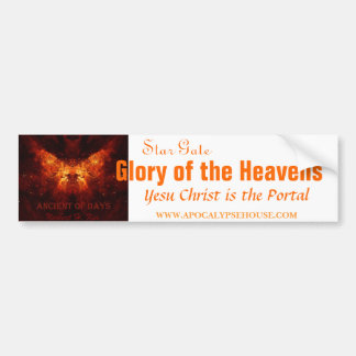 Star Gate: Glory of the Heavens Bumper Sticker