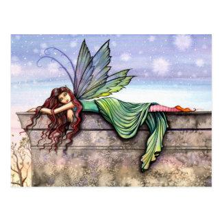 Star Gazer Fairy Postcard