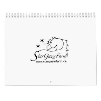 Star Gazer Farm 2017 Horse Calendar