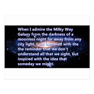 Star Gazer Imagination Postcard