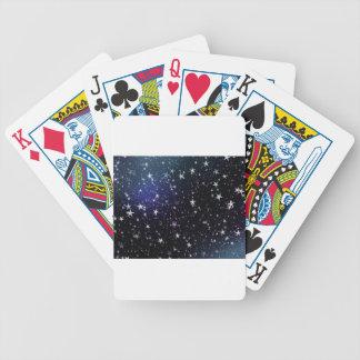 Star Gazer Nature Sky Space Peace Love Destiny Playing Cards