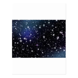 Star Gazer Nature Sky Space Peace Love Destiny Postcard