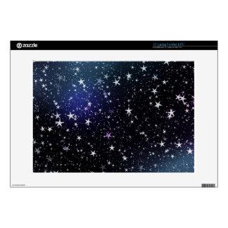"Star Gazer Nature Sky Space Peace Love Destiny Decals For 15"" Laptops"