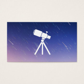 Star Gazer | Telescope Business Card