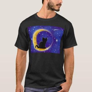 Star Gazing Cat T-Shirt