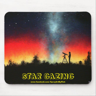 Star Gazing Mouse Pad