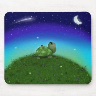 Star Gazing Turtle Mousepad