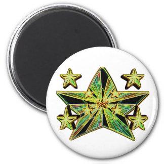 Star Genesis (Super Nova Artistic Conception) 2 Inch Round Magnet