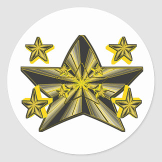 Star Genesis (Super Nova Artistic Conception) Round Sticker