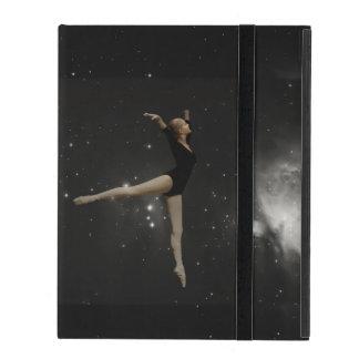 Star Girl Ballerina and Orion Nebula iPad Folio Case