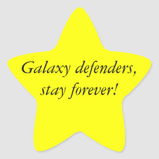 STAR Girl - McFly Star Sticker