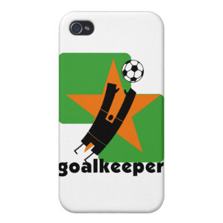 Star Goalkeeper and Gifts Cases For iPhone 4