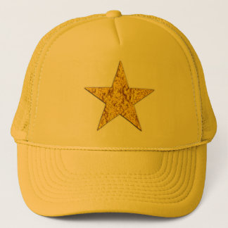 Star (gold nugget) trucker hat