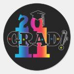 Star Grad 2011 Stickers