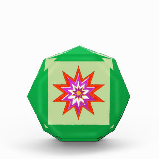 STAR green background BLESSING MAGIC lowprice Award