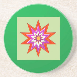 STAR green background BLESSING MAGIC lowprice Coaster
