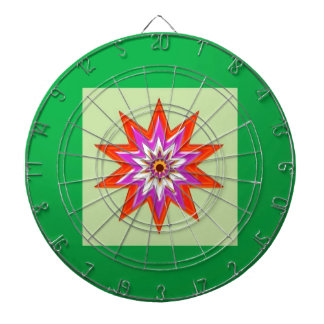 STAR green background BLESSING MAGIC lowprice Dartboard With Darts