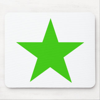 Star Green The MUSEUM Zazzle Gifts Mouse Pad