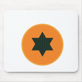 star half fruit mouse pad