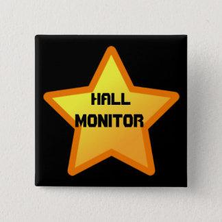 star, Hall, Monitor Button