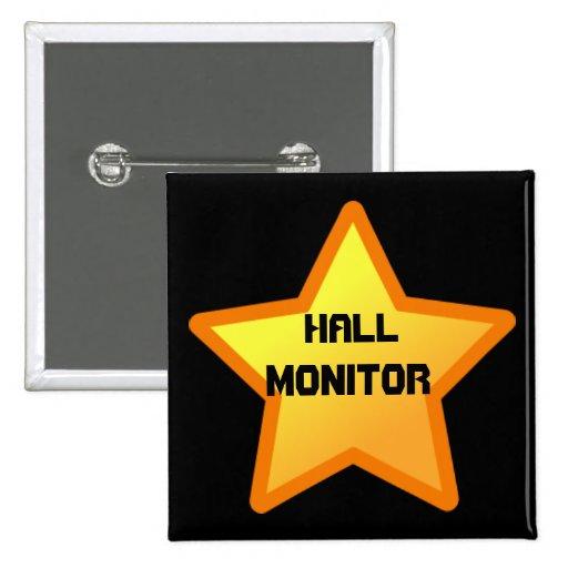star, Hall, Monitor Pin
