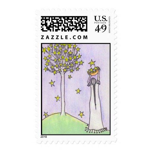 Star Harvest Postage Stamp