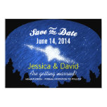 Star Heart in the Starry Night Save the Date Cards Personalized Announcement