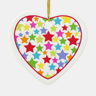 Star Heart Ornament