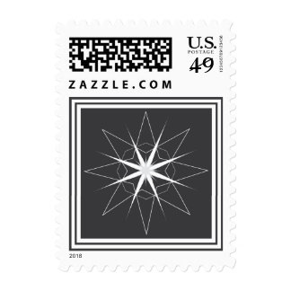Star Holiday Postage