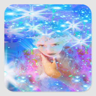 Star Horizon Square Sticker