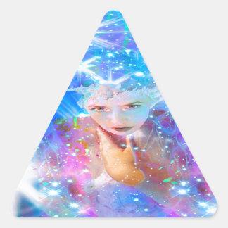 Star Horizon Triangle Sticker