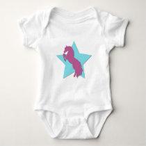 Star Horse Baby Bodysuit