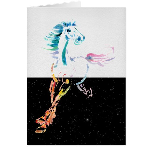 Star Horse Greeting and Note Cards