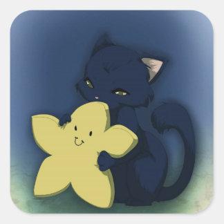 Star hug stickers