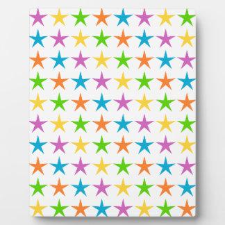 Star Images Plaque