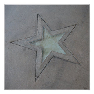 Star in Hollywood Print