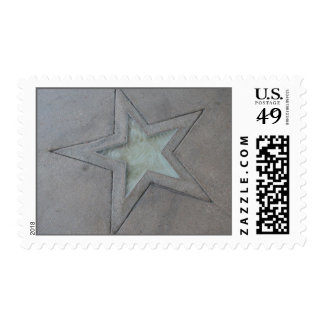 Star in Hollywood Stamp