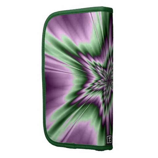 Star in Purple and Green Folio Planners