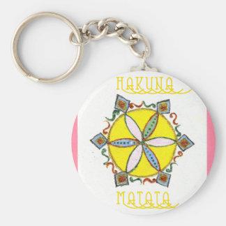 Star in the Making Hakuna Matata Basic Round Button Keychain